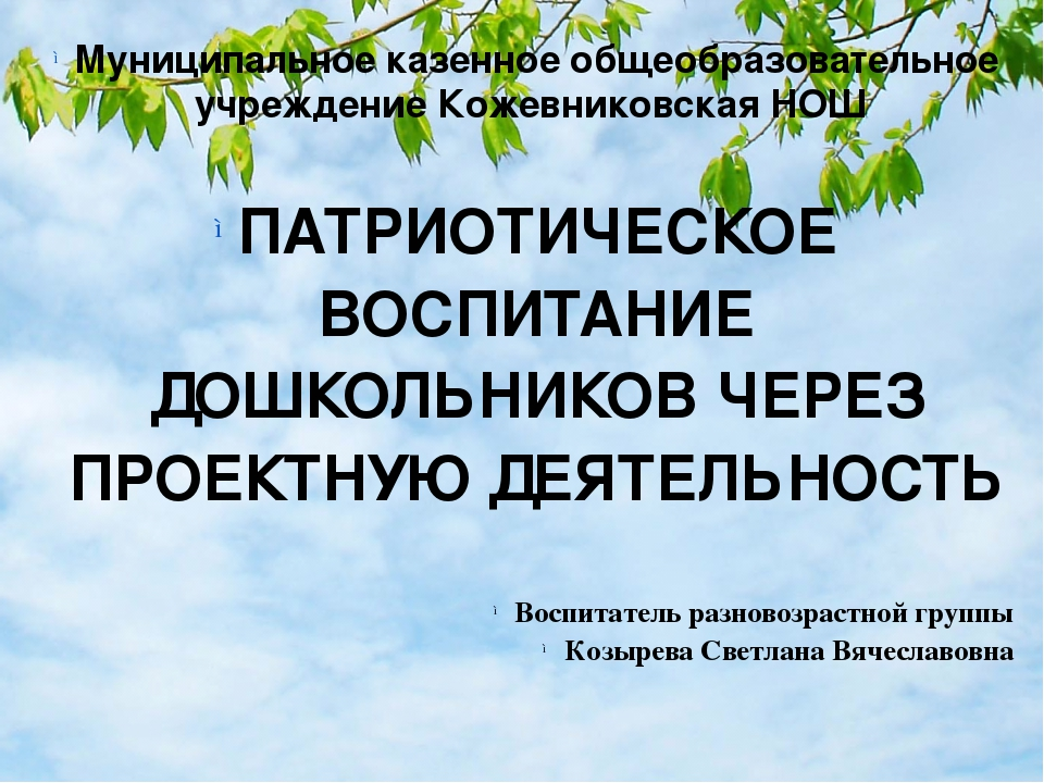 Муниципальное казенное общеобразовательное учреждение Кожевниковская НОШ  Му...
