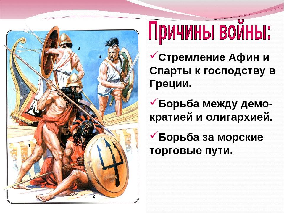 Афины и спарта