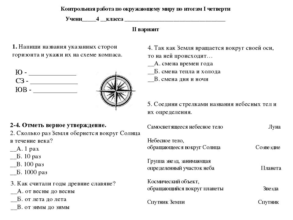 Гармония контрольная работа по русскому языку 3 класс 2 четверть