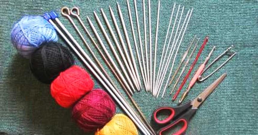 Основные материалы для вязания 213