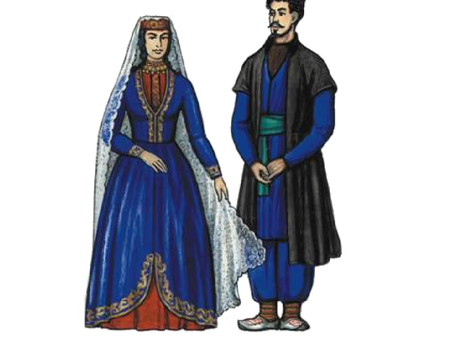 Национальный армянский костюм в картинках