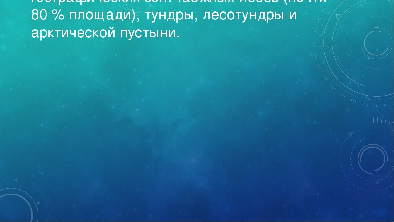 Территория Якутии входит в пределы четырёх географических зон: таёжных лесов...