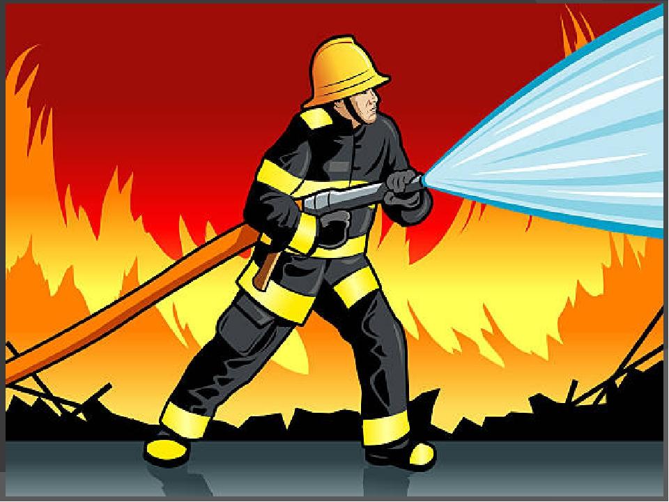 такая рисунок на тему пожарные тушат пожар узор, который