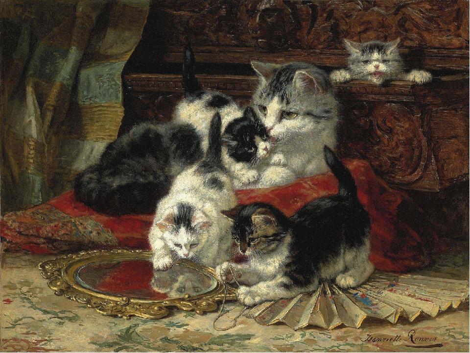 данного картинки по развитию речи кошка с котятами этой