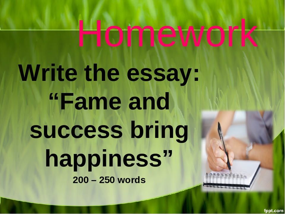 Write my success and happiness essay