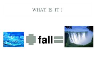 WHAT IS IT ? fall