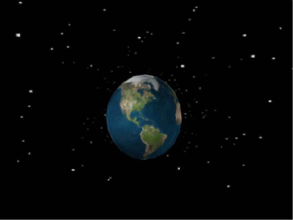 Картинки анимационные планета
