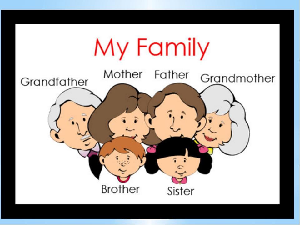 Английская семья картинка