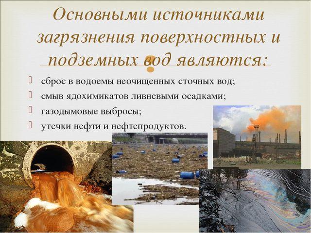 Шлюхи виришення забруднення вод