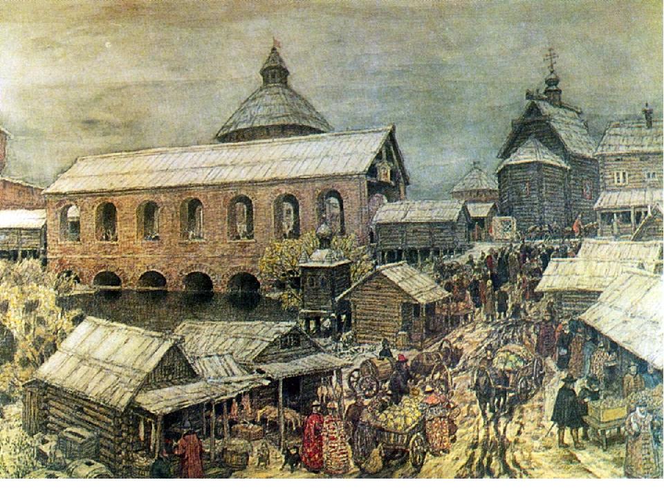Картинки древних русских городов
