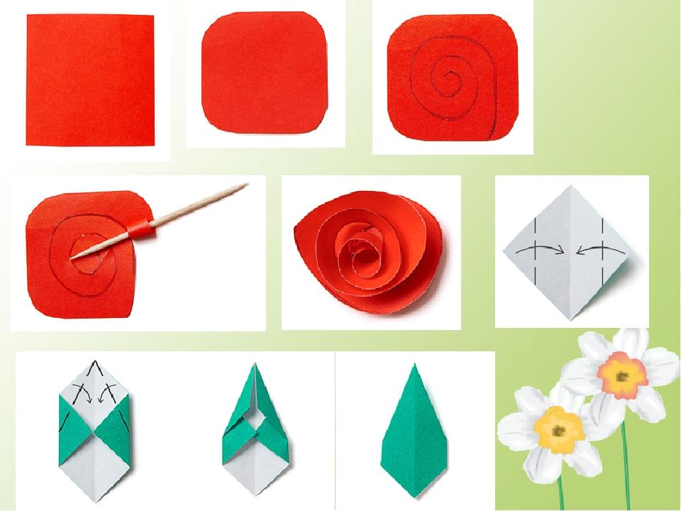 Технология 4 класс открытка для мамы, оригами папе день