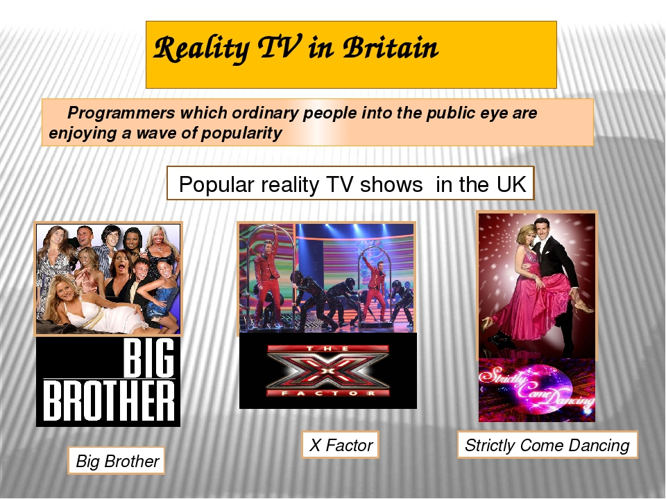 learning english through television programmes Television is an inescapable part of modern culture we depend on tv for entertainment, news, education, culture, weather, sports—and even music, since the advent of music videos.