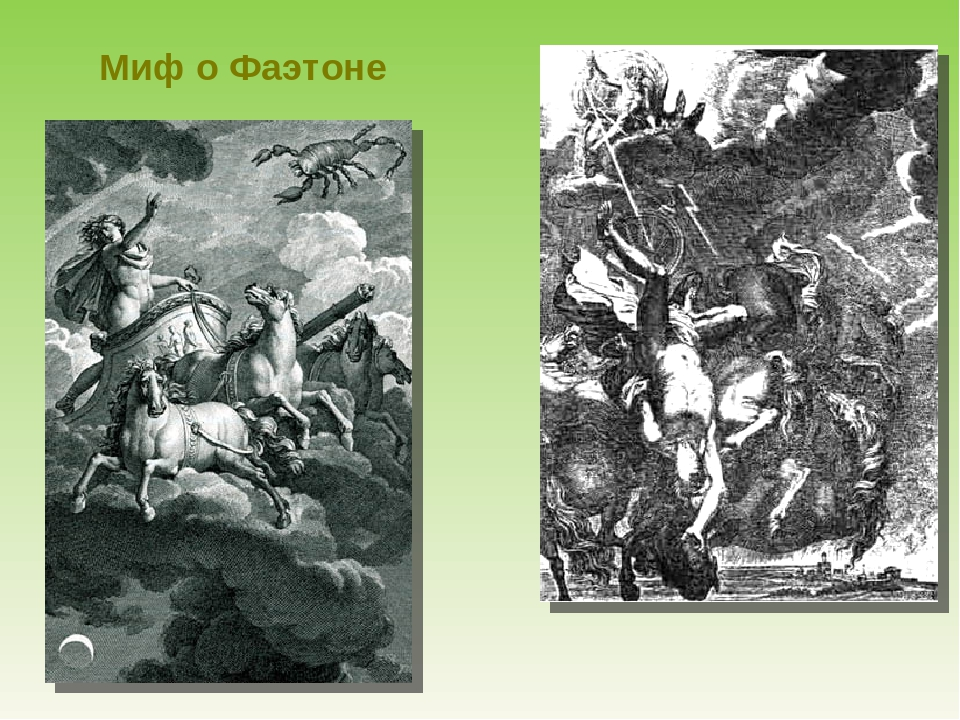 myth of phaethon essay The influence of ancient greek mythology on modern society essay 1055 words | 5 pages ancient greek society fell over 2000 years ago but despite this, its mythology still continues to influence our western society.