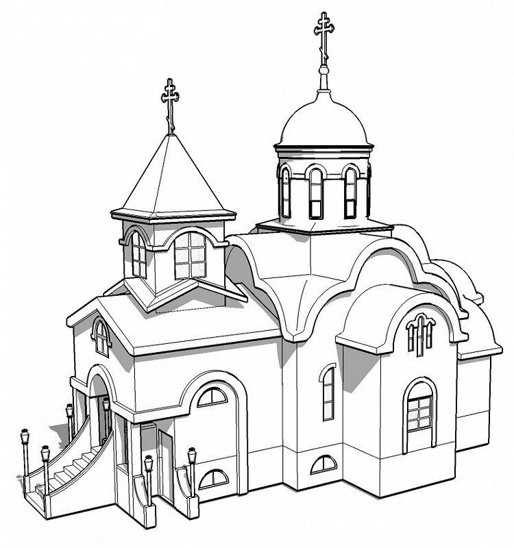 Картинки соборов для рисования, вибер