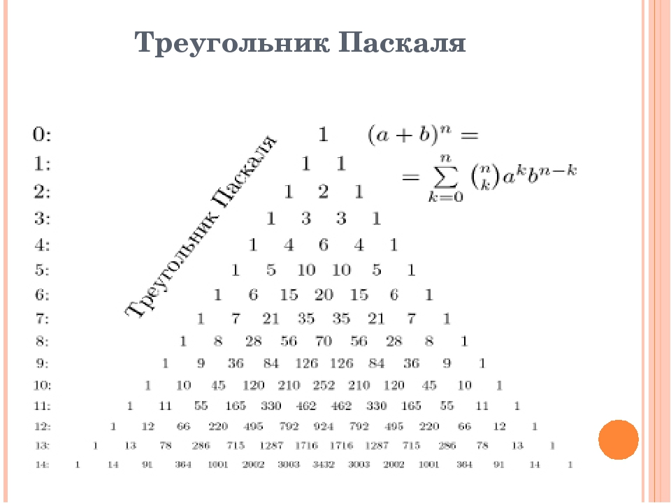 an analysis of pascals triangle in mathematics