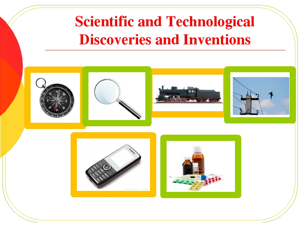 technology and scientific discoveries