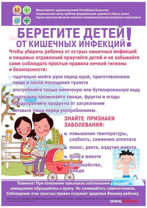 """Консультация для родителей """"Кишечные инфекции"""""""