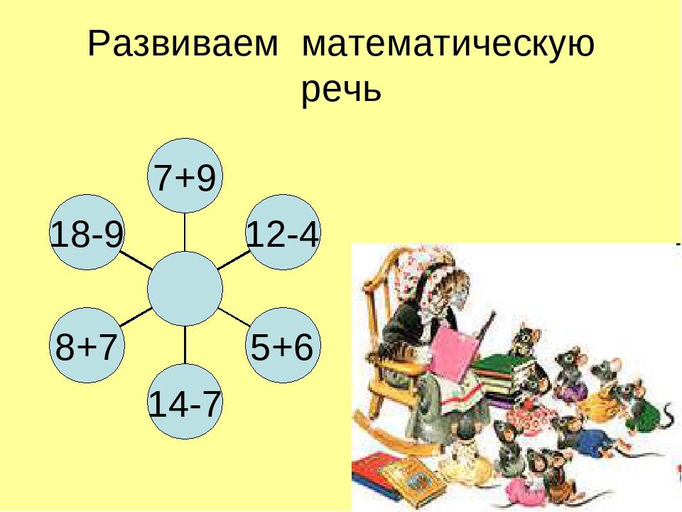 Развиваем математическую речь