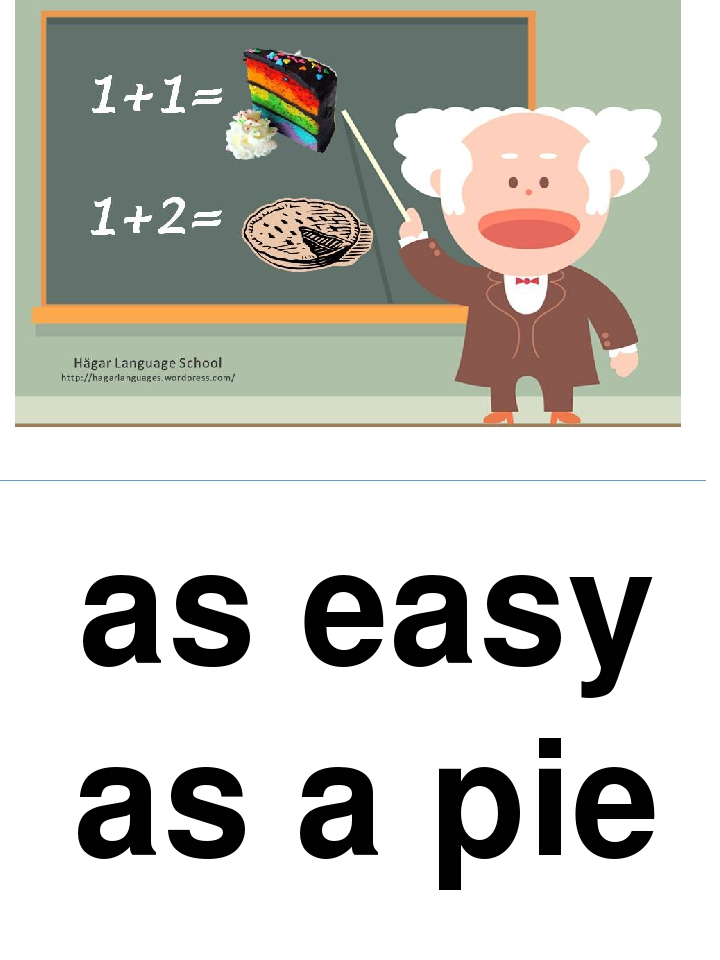 as easy as a pie