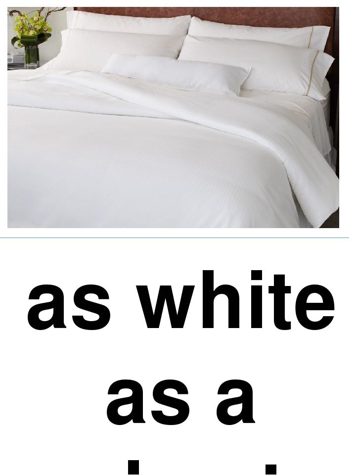 as white as a sheet