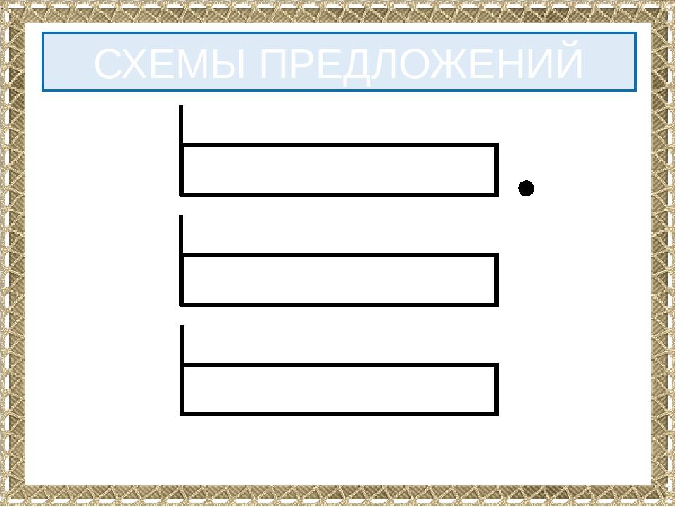 Картинки, картинки схемы предложений для 1 класса