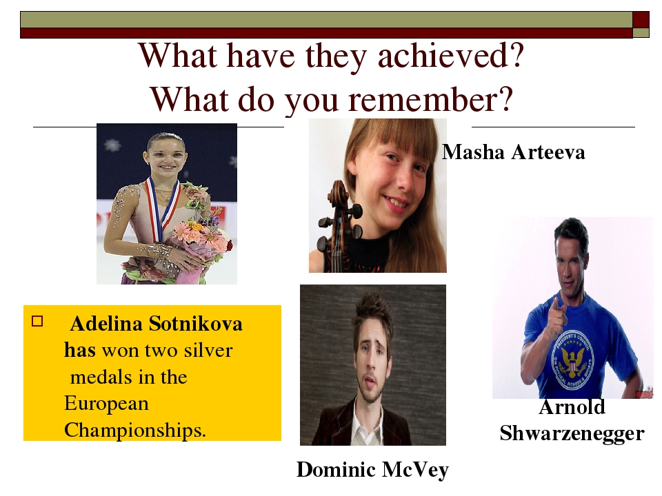 What have they achieved? What do you remember? Adelina Sotnikova has won two...