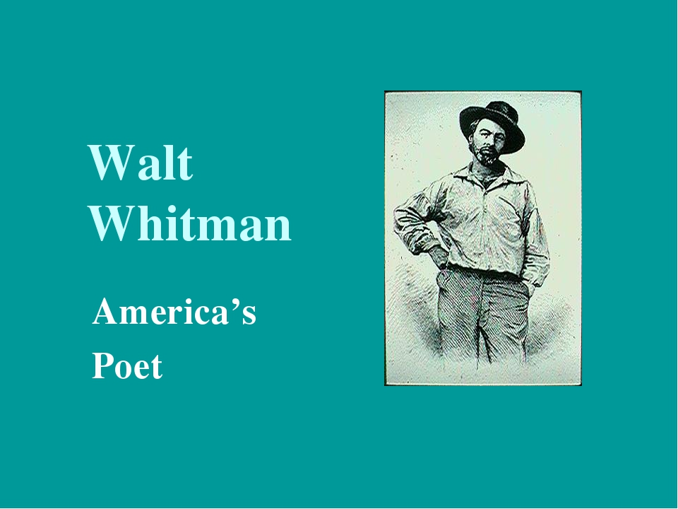 how walt whitman changed the way poetry is viewed today Get an answer for 'compare and contrast emily dickinson and walt whitman who are you, she writes a compact poem in walt whitman are considered today by.
