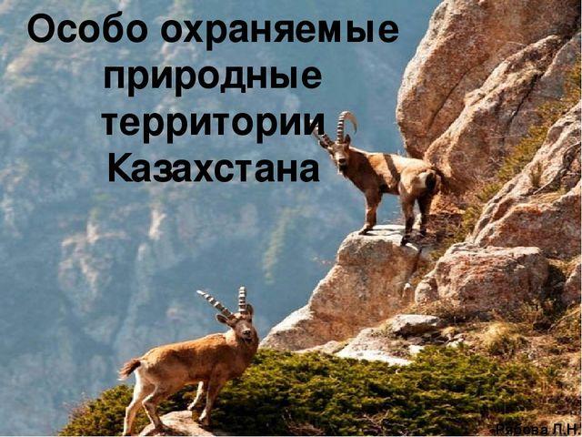 Реферат особо охраняемые природные территории казахстана 2307