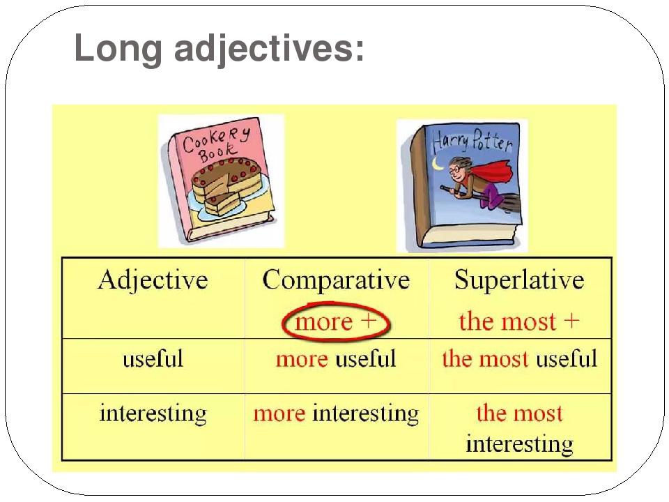 comparisson of adjective