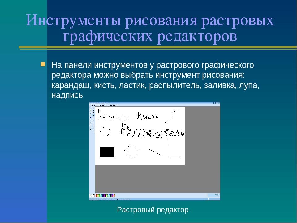 Инструменты графического редактора Adobe Photoshop