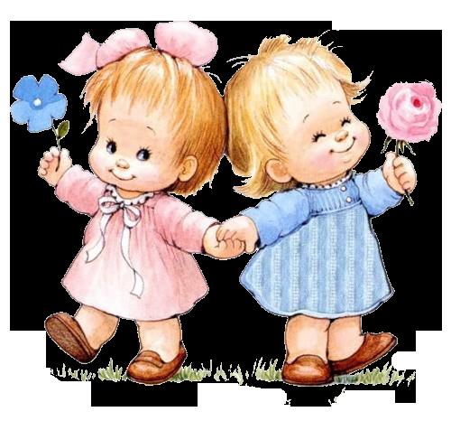 Поздравление близняшкам на 4 года