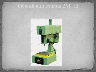 Общий вид станка 2М112