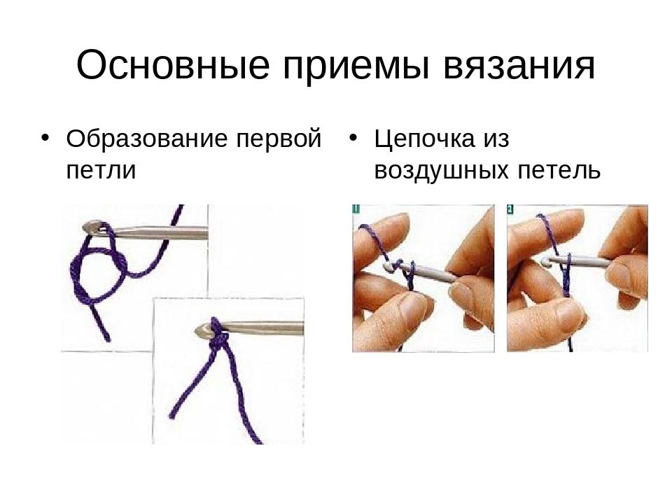 Вязание на спицах основные приемы 360