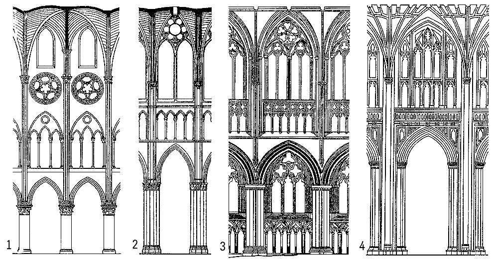 byzantime romanesque and gothic architecture and Free essay: the transition from romanesque architecture to gothic architecture can be attributed to a simple reason and that is wealth throughout europe.
