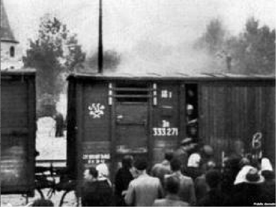 Репрессии в брянской области