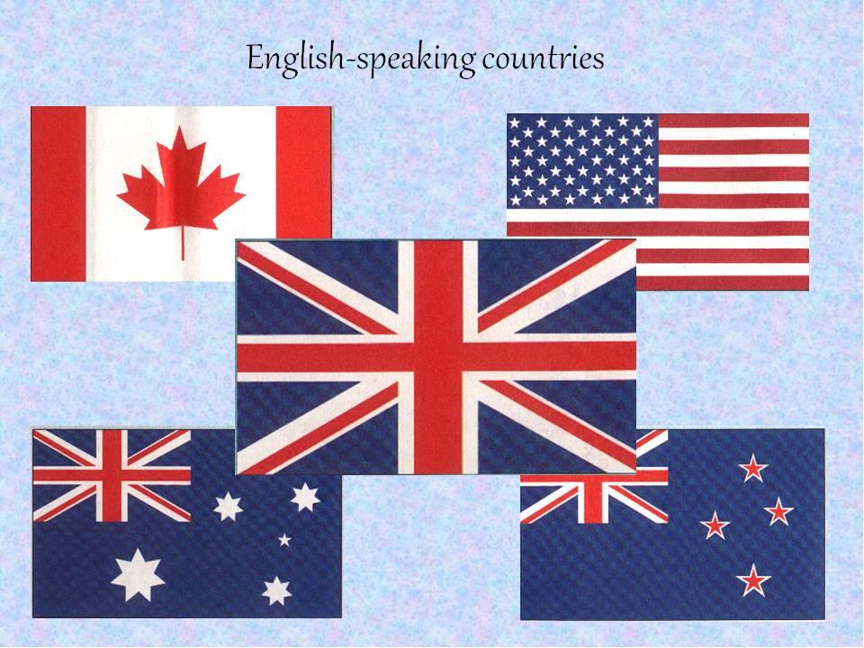флаги англоязычных стран картинки крупными лепестками