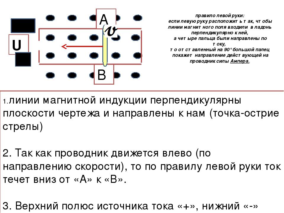 1.линии магнитной индукции перпендикулярны плоскости чертежа и направлены к н...