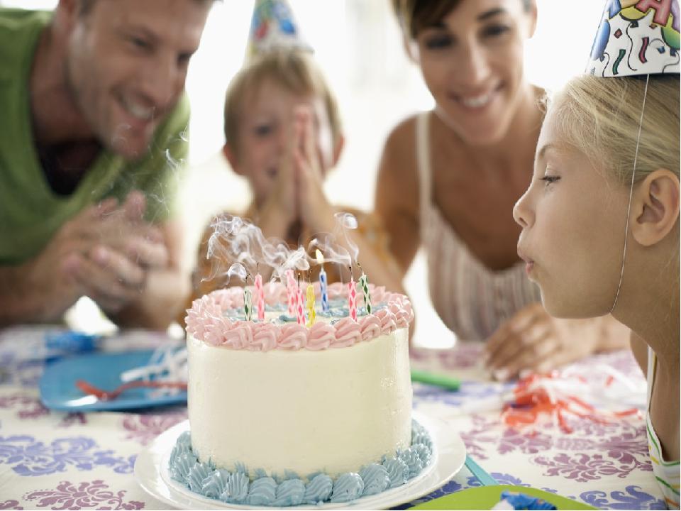 Семья картинки день рождения