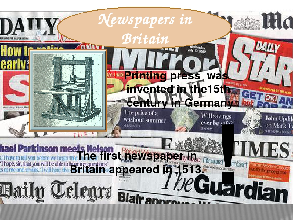british press Whether you are a researcher, historian or you simply want to know more about britain's history, take this fantastic opportunity to search the british newspaper archive - a vast treasure trove of historical newspapers from your own home.