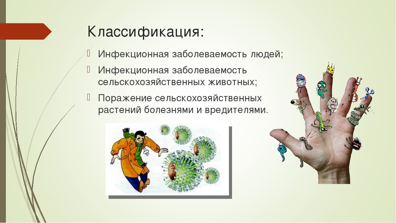 Классификация: Инфекционная заболеваемость людей; Инфекционная заболеваемость...