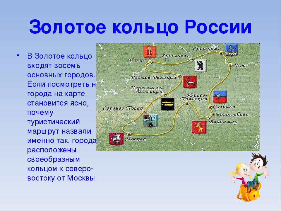 Картинки золотого кольца туристического маршрута