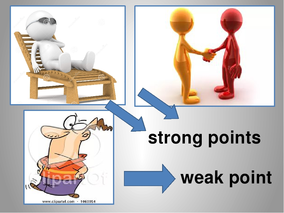 weakpoints and strong points in my I think that the strong poits of my company are the work facilities and work enverionment however, they do not creat motivations and there is no system foe praise and assessment wrong attitude, showing sometimes that he is the only one capable human who can do anything but other are nothing 1.