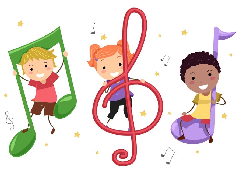 Музыкальная картинки для детей