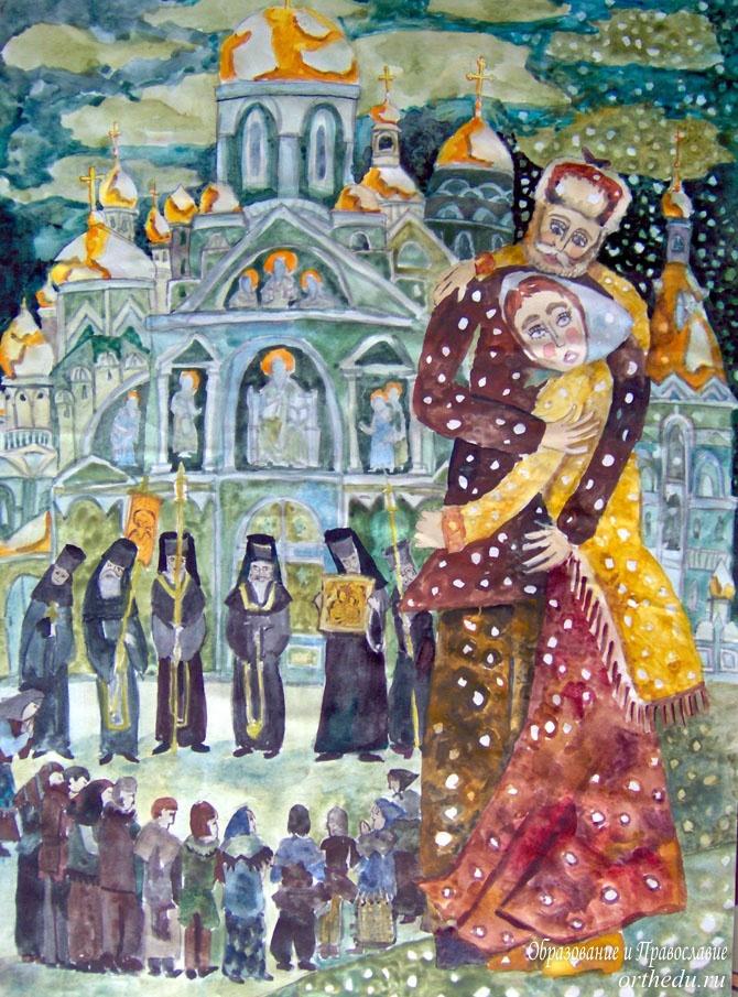 Картинки на прощеное воскресенье пнкут юлены стоит веселый чад, туфлей