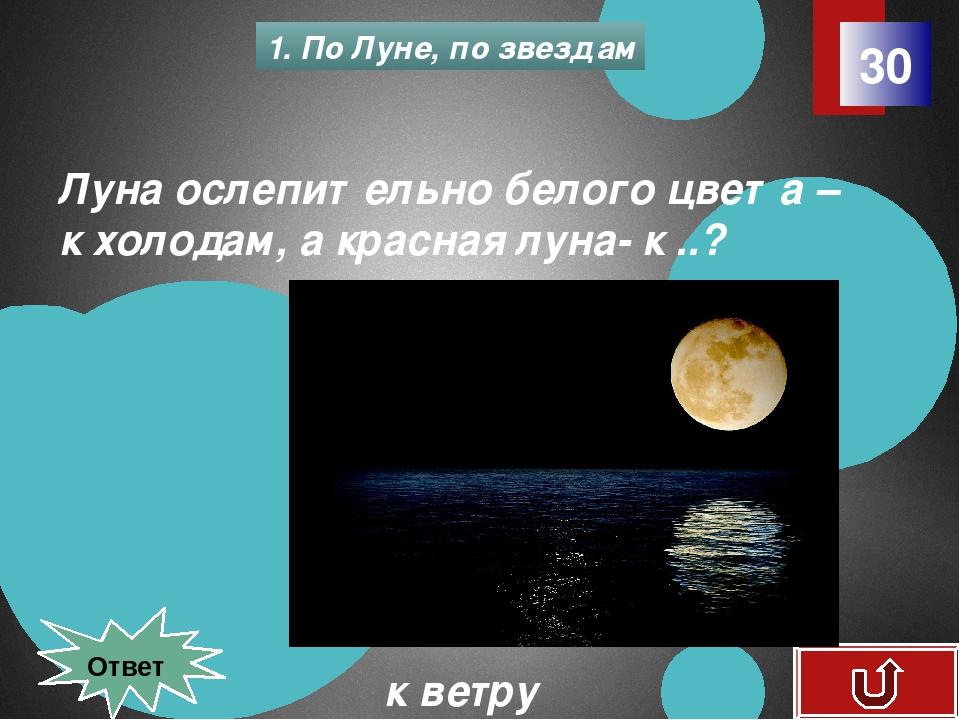 20 2. Признаки погоды Признак какой погоды, если: - вечером теплее, чем днем...
