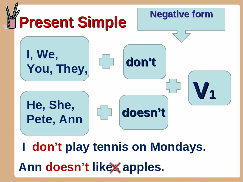 English Exercises Present Simple