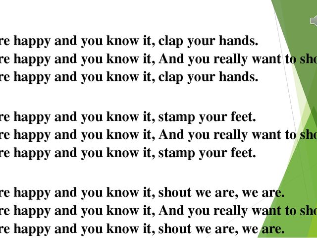 if your happy and you know clap your hands - 640×480