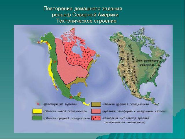 Урок географии 11 класс комплексная характеристика северной америки