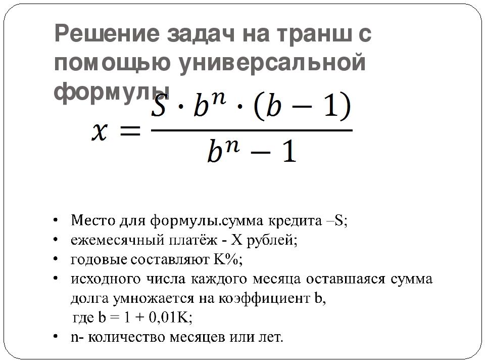 Решения задач по кредиту решение задач параллелограмм 8 класс презентация