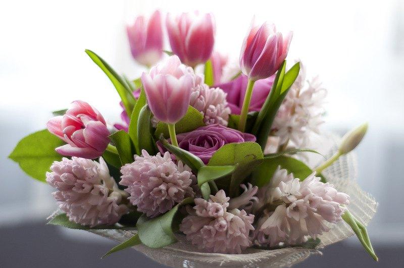 Фото весенние цветы букеты
